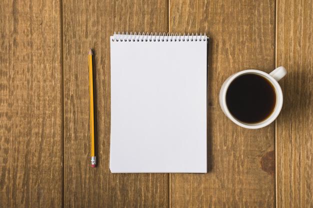 cafe caderno - Como ter uma alimentação saudável na correria do dia a dia
