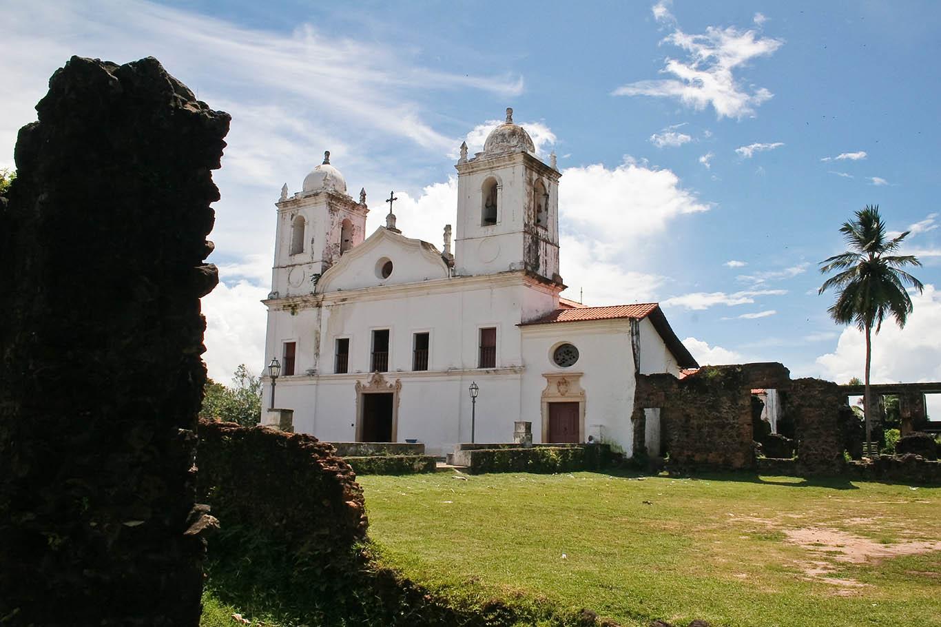 Passar o Reveillon, Igreja Matriz de São Matias, Alcântara, Maranhão