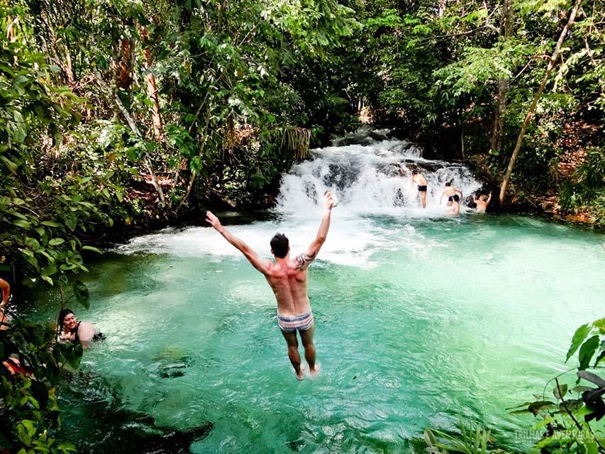 Passar o Reveillon, Parque do Jalapão, Cachoeira do Formiga