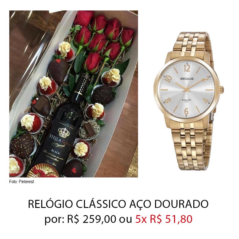 RELOGIODIADOSNAMORADOS - Dia dos Namorados: presentes por até 259,00