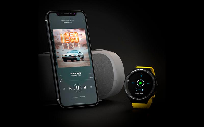 controle de música - Smartwatch em casa: como ele pode dar um up na sua rotina