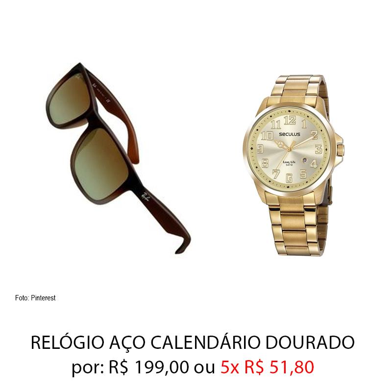 oculos e relógio - Dia dos Namorados: presentes por até 259,00